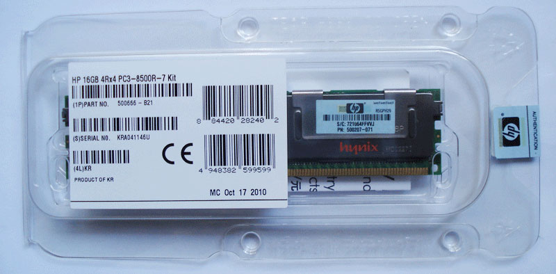 HP MEMORY 16GB /PD
