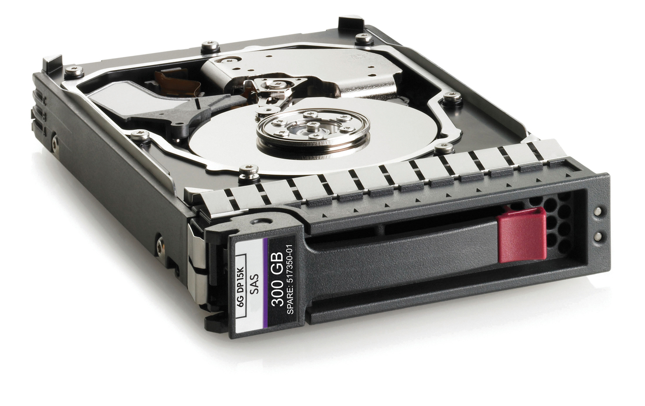 HP HDD 300GB, 3.5in 15K DP