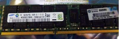 HP MEMORY 16GB 2Rx4 PC3L-10600