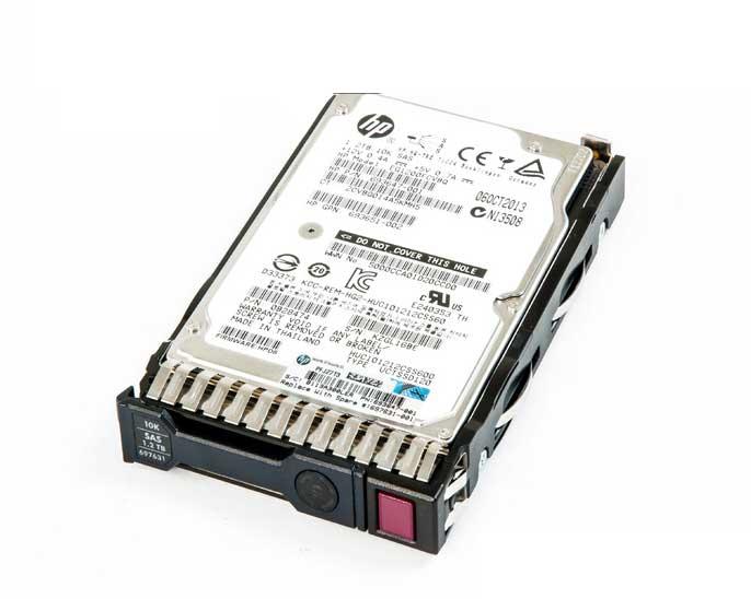 HP HDD 1.2TB 6G SAS 10K 2.5in