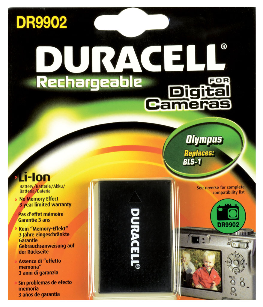 DURACELL.BAT.REPLACES OLYMPUS