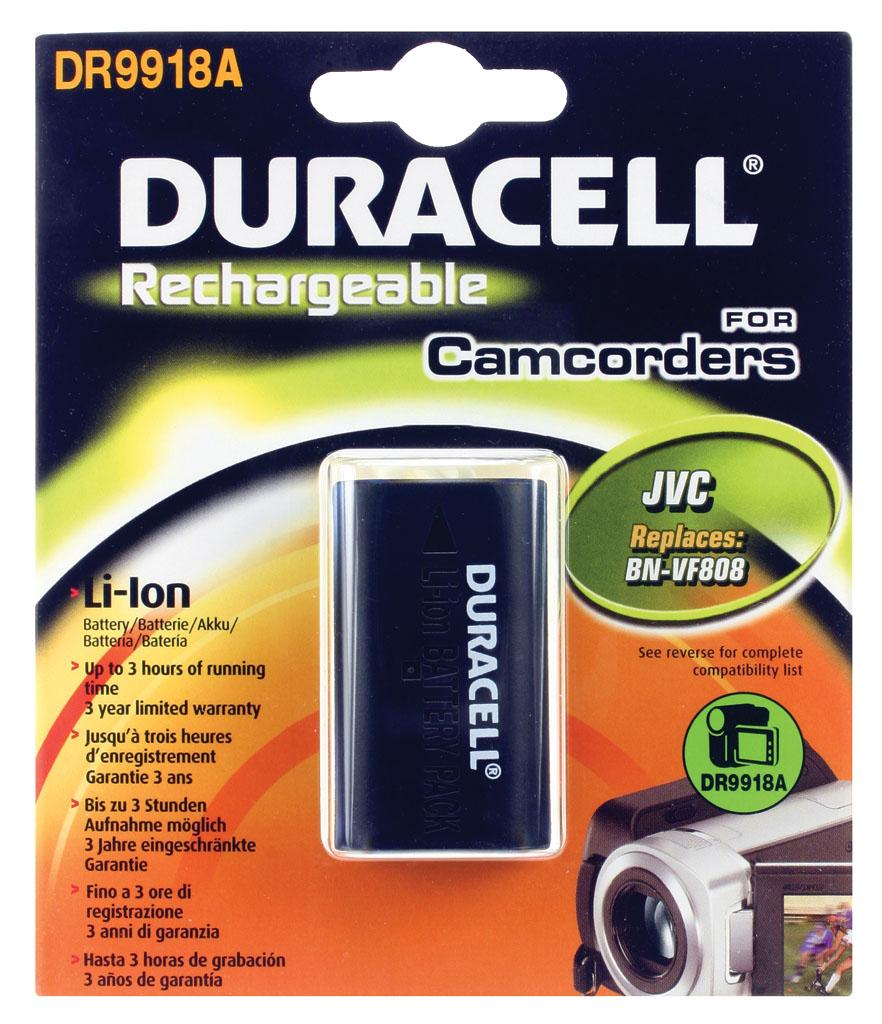 DURACELL.BAT.REPLACES JVC BN-V