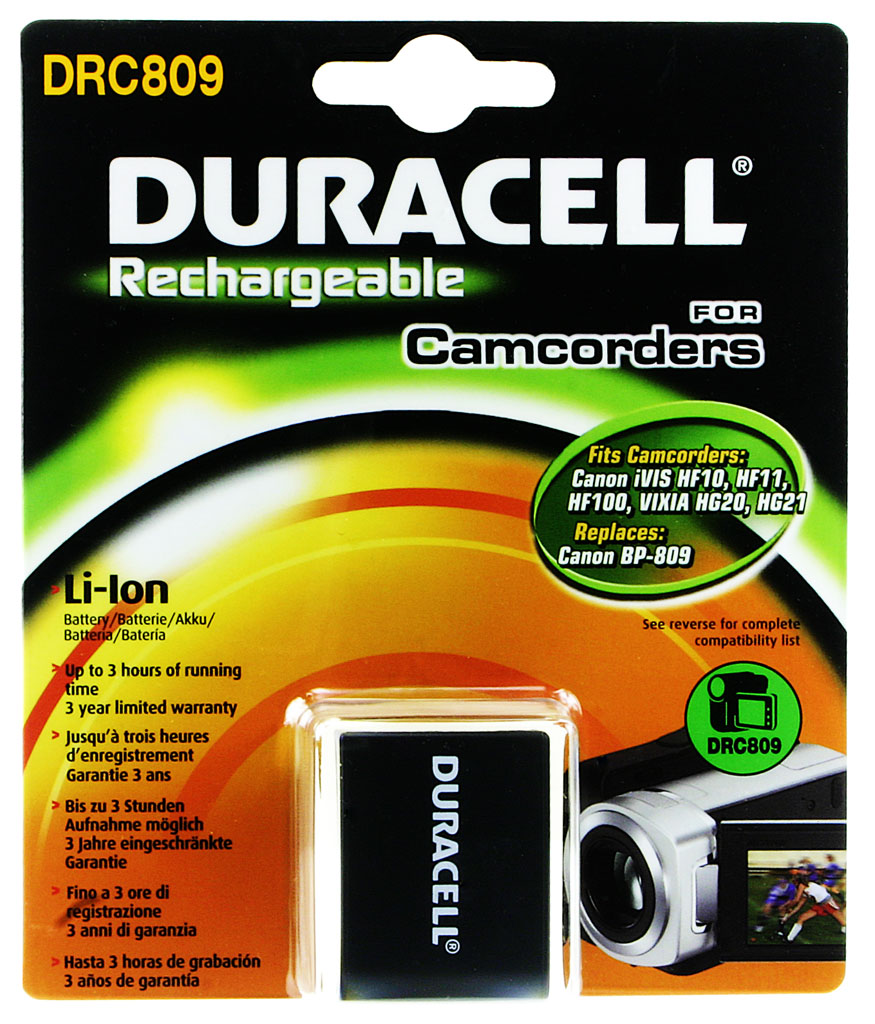 DURACELL.BAT.CANON BP-809