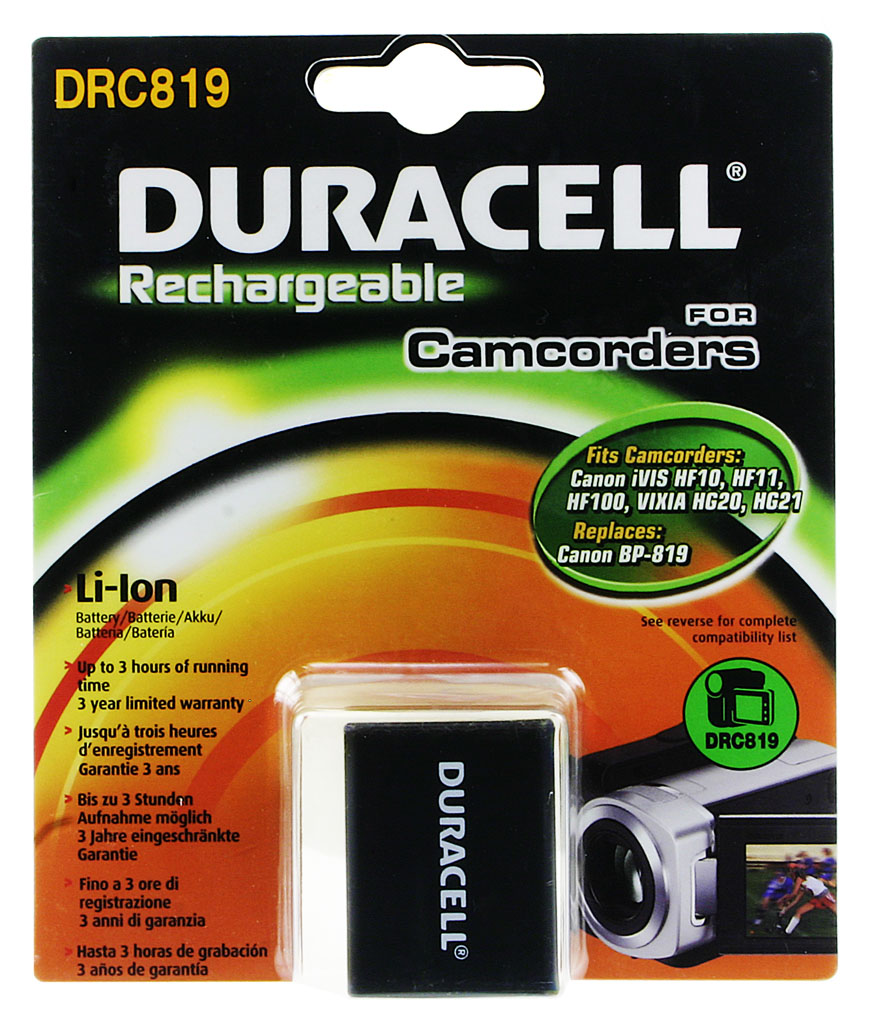 DURACELL.BAT.CANON BP-819