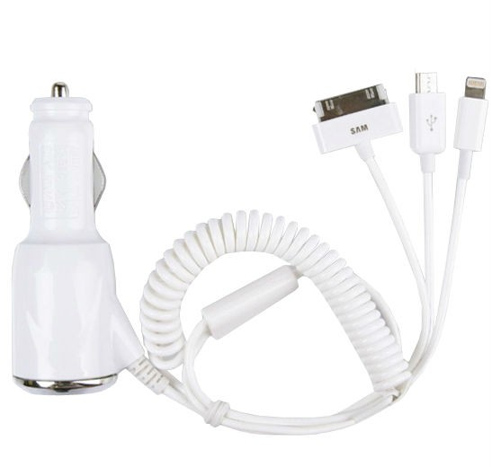 3 IN 1 DC CAR CHARGER PPAPAD