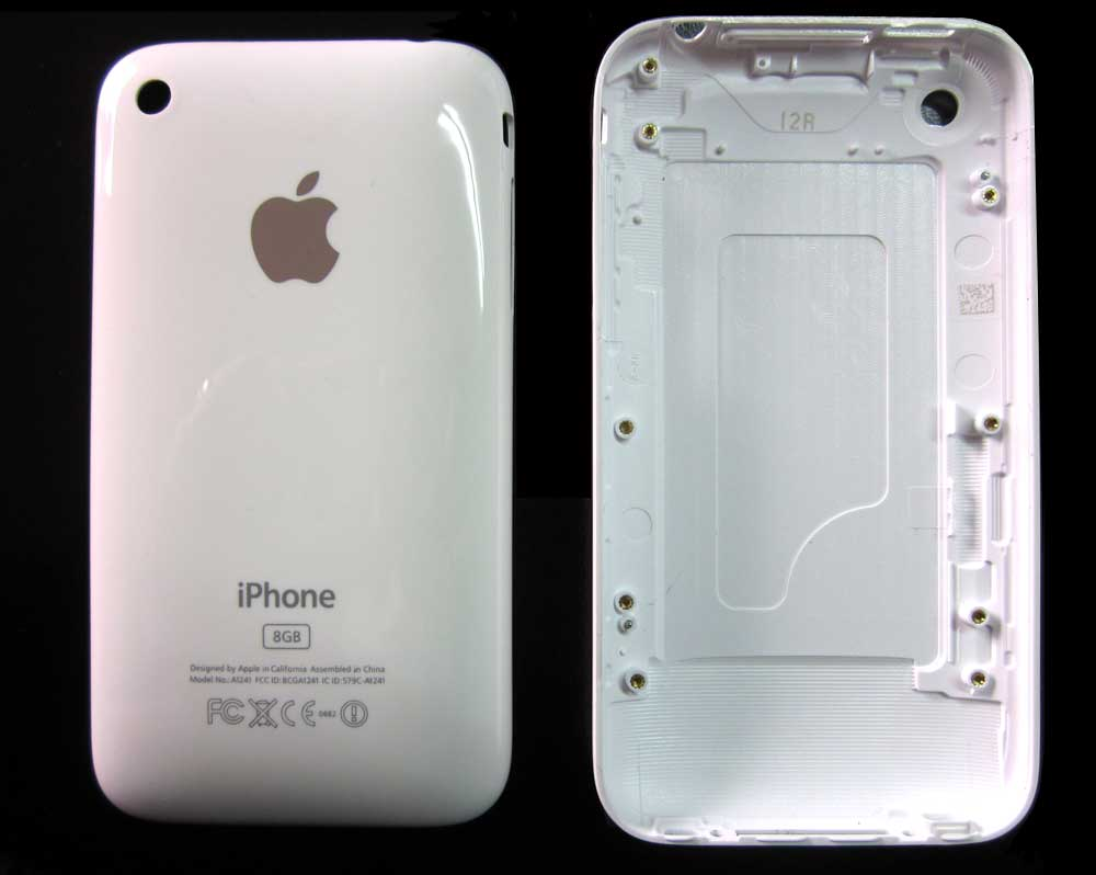 IPHONE 3G BACK COVER WHITE