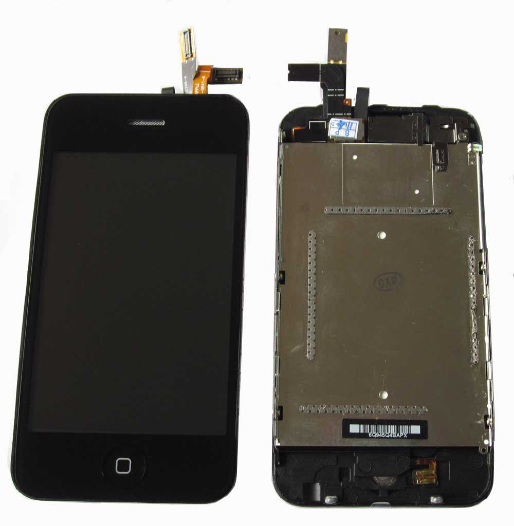 IPHONE 3GS LCD+ TACTIL NEGRO