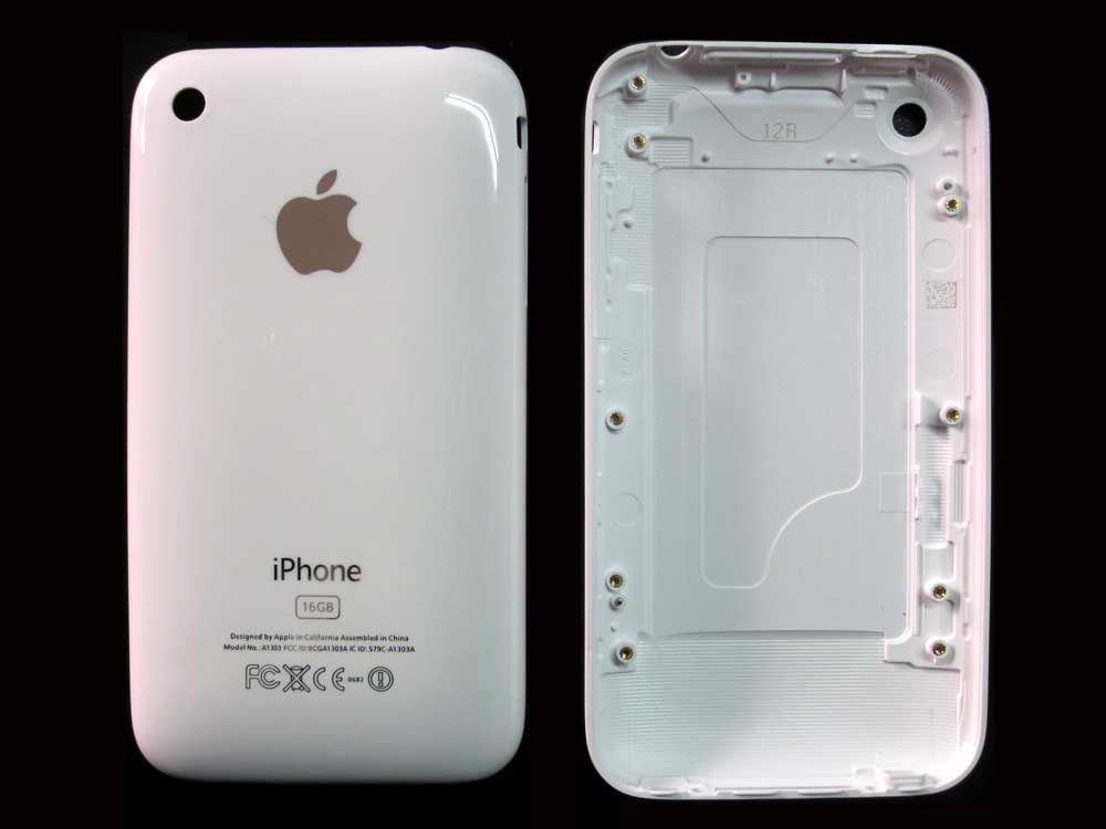 how to open iphone 3gs back cover