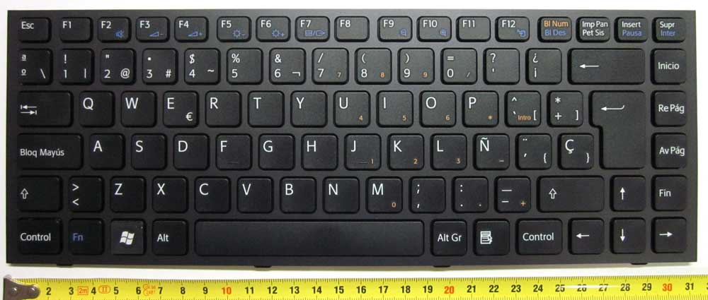 SONY KEYBOARD BLACK/NEGRO-