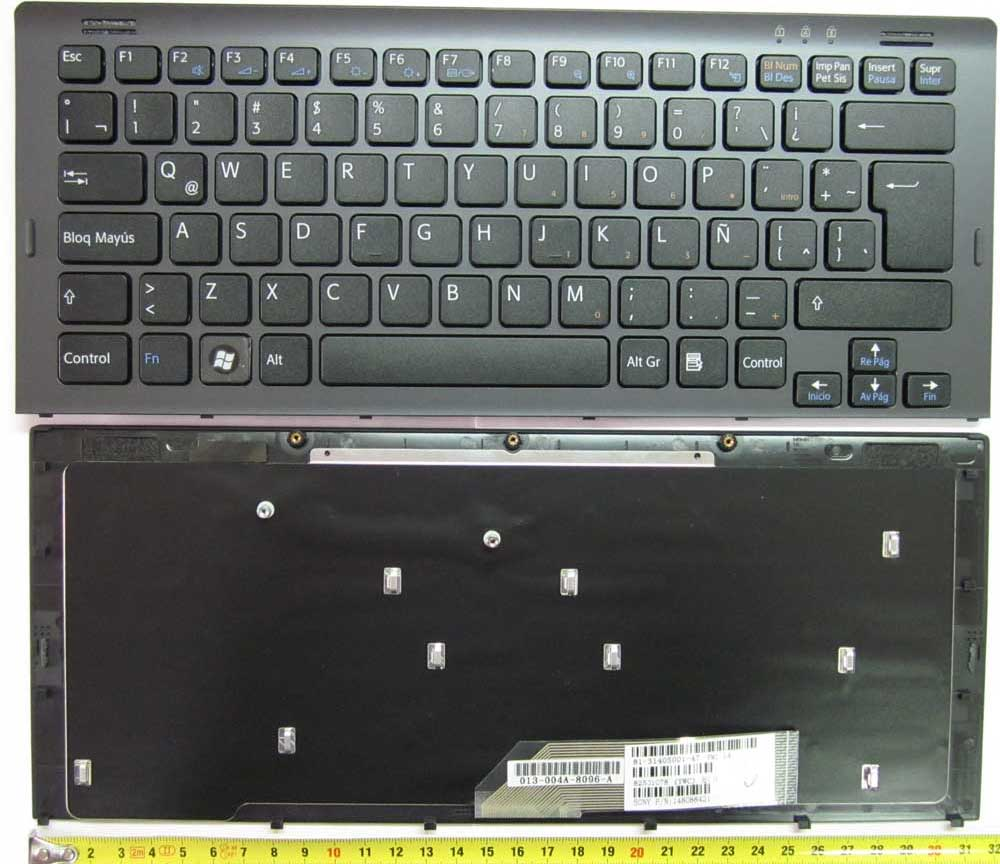 SONY KEYBOARD BLACK VGN-SR