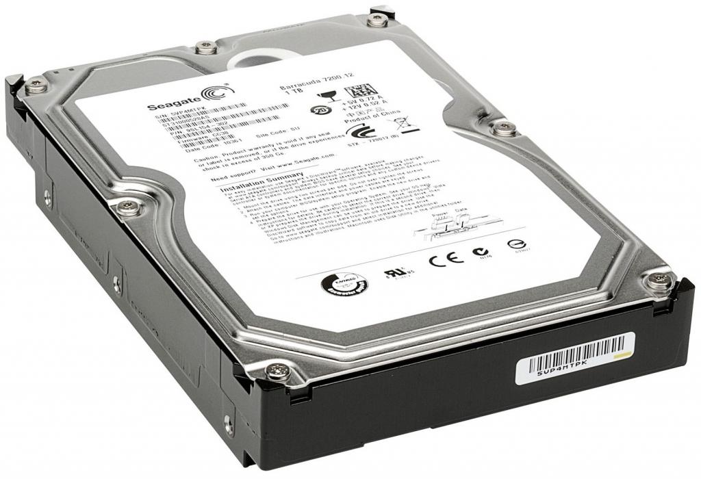 SEAGATE HDD 1TB 7.2K SATA2 3.5